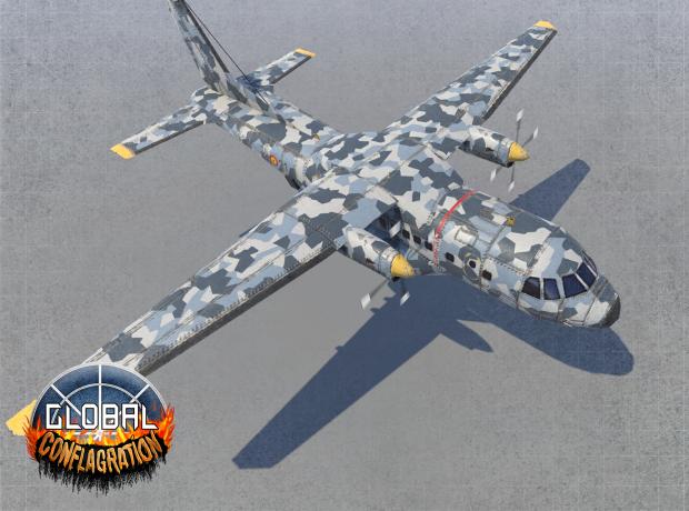 CN-235 - EU Gunship (Remastered)