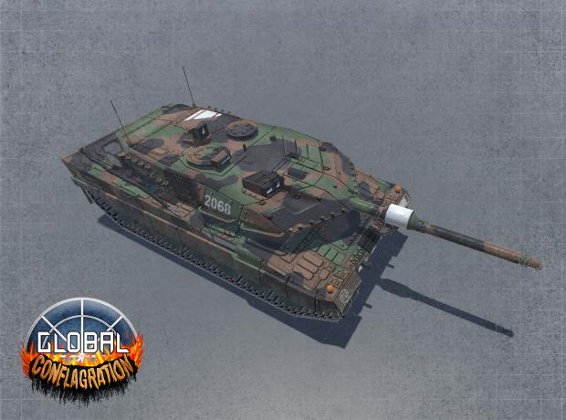 Leopard A6 - EU Main Battle Tank