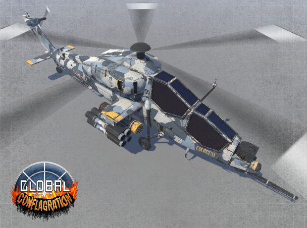 A129 Mangusta - EU Attack helicopter (Remastered)