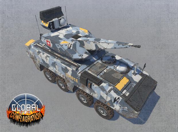 Skyranger - EU Anti-Aircraft Unit (Remastered)