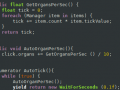 Some of the code behind Organ Harvester