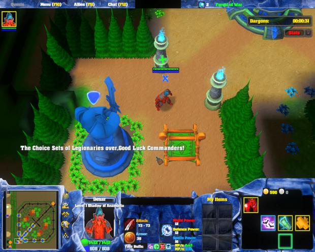 Legions War Screenshot 0
