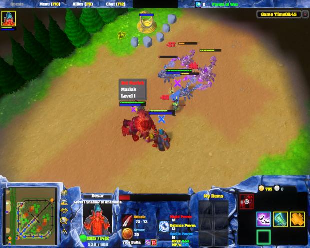 Legions War Screenshot 2