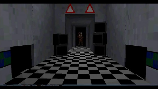 Foxy's Jumpscare From Hallway