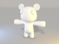 Teddy Bear W.I.P. model
