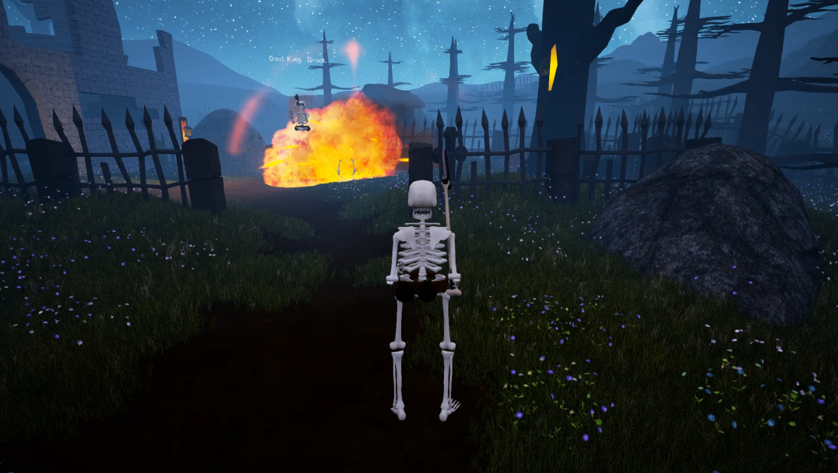 The Skeleton War - Another Bomb Explosion
