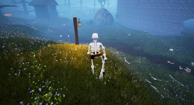 The Skeleton War - Bones Everywhere