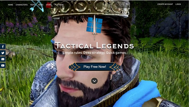 New Tactical Legends Homepage