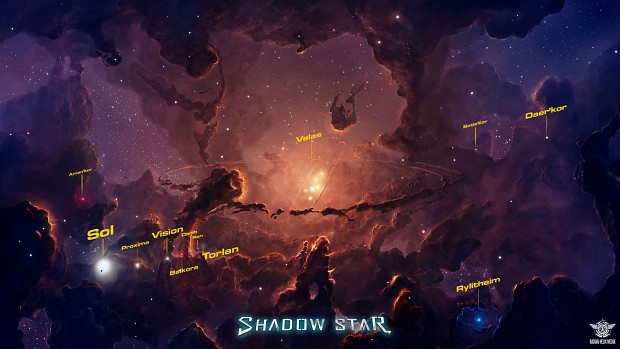 Shadow Star Velas Nebula Map Concept