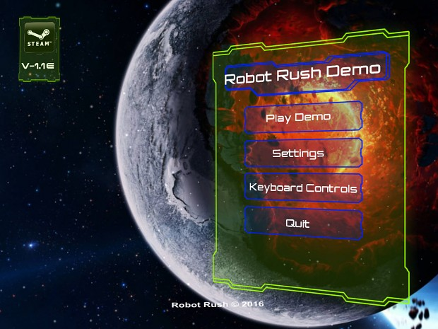 Robot Rush Demo