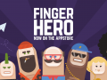 Finger Hero : Avoid obstacles