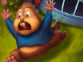 Chipmunks' Trouble — funny puzzle