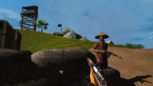 Scene from Tonkin Raid