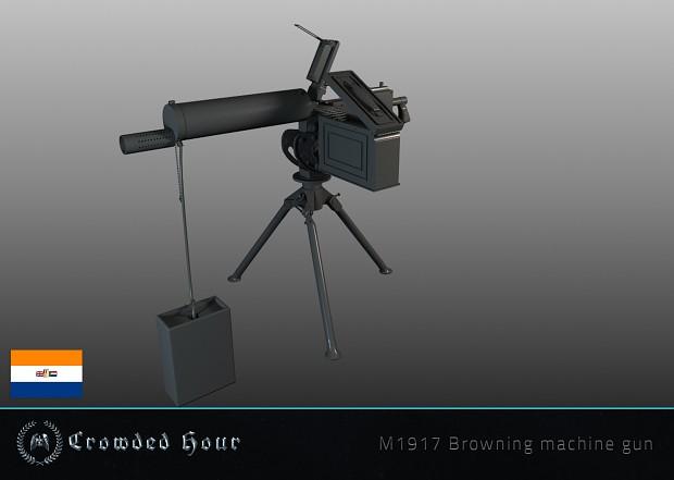 m1917 browning machine gun