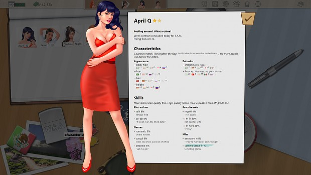 Porno Studio Tycoon - actor profile