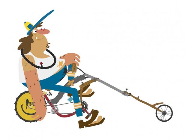 Big Wheelie on a low rider