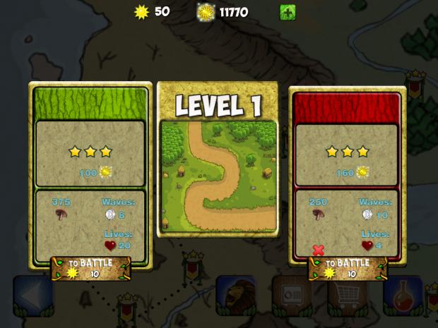 Level 1 Map