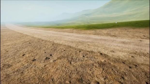 Unity Custom Terrain Shader Demo - ColorMaps, Puddles, Roads