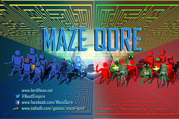 Maze Qore - SIEGE 2017 Poster