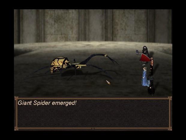 Spider Battle