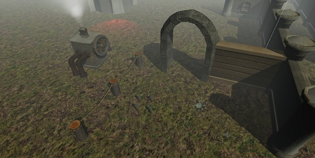 Some new game 3D assets in dev