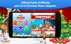 Christmas Games Jigsaw Puzzles for kids