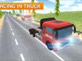 Cargo Truck Racing Action