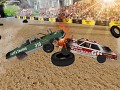 Demolition Derby Car Racing