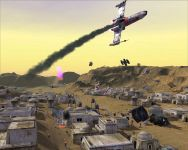 Air Combat over Tatooine