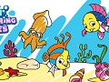 Fish Coloring Pages: Colouring Book for Kids