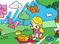 Spring Coloring Pages: Colouring Book For Kids