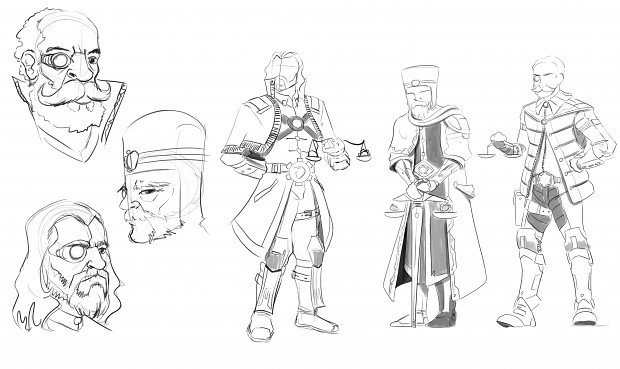 Concept art for Character