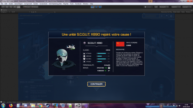 New robot unlocked!