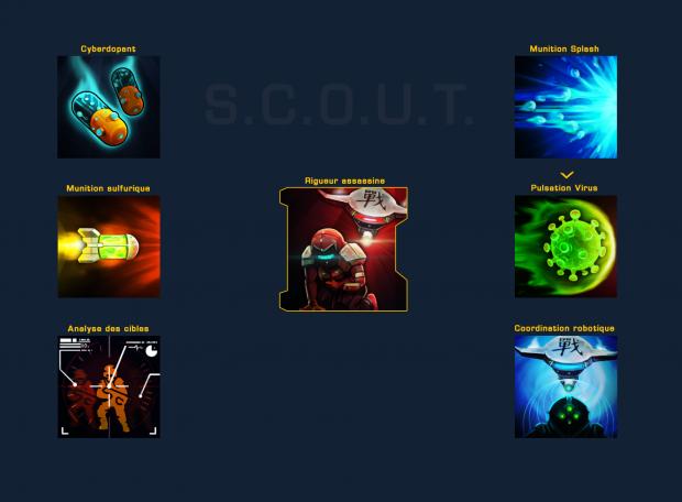 Scout: Robot spells