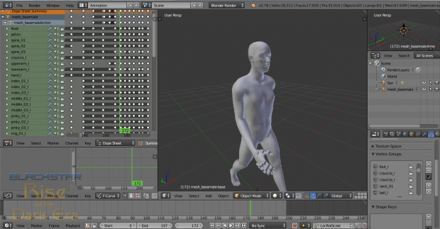 Early Pass Walking Animation