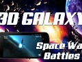 3D Galaxy Space War Battles