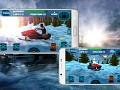 Snow Mobile Winter Racing King