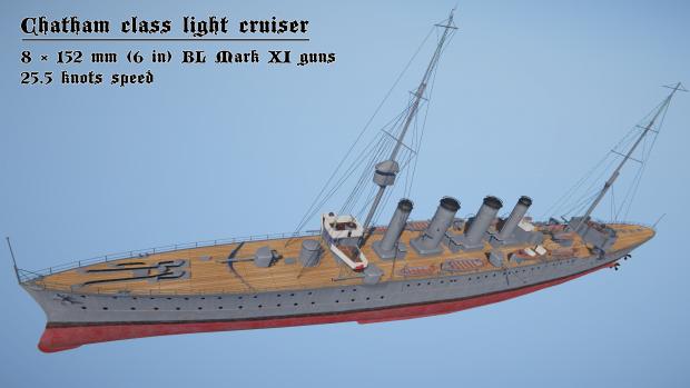 Chatham class render