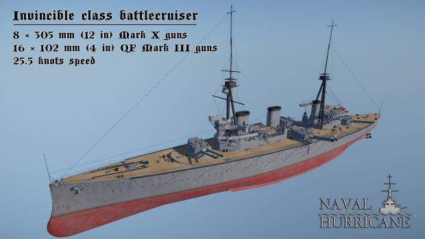 Invincible class battlecruiser
