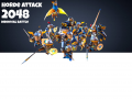 Horde Attack: 2048 Medieval Battle