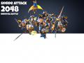 Horde Attack: 2048 Medieval Battle