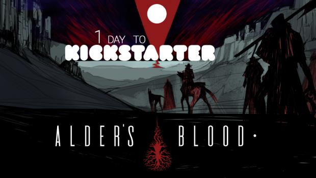 1 day to Alder's Blood Kickstarter!