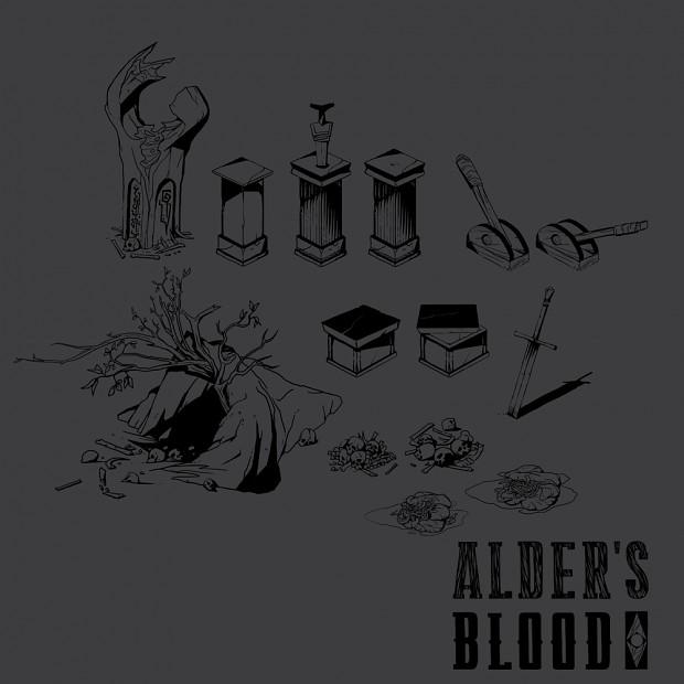 Terrain interactive objects In Alder's Blood