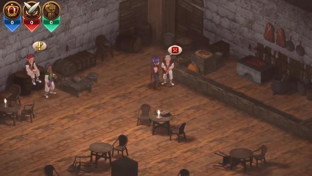 RPG MAKER MV: Wolf Kingdom Amarok Demo footage 03