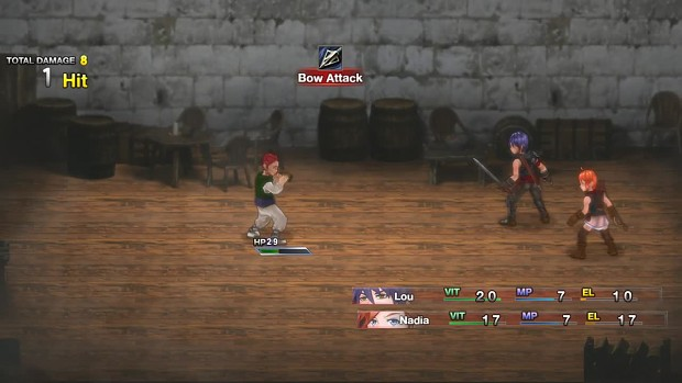 RPG MAKER MV: Wolf Kingdom Amarok Demo footage 04
