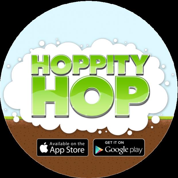 Hoppity Hop Sticker