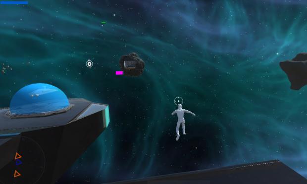 warped space eva
