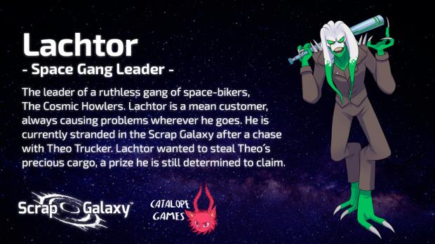 Scrap Galaxy - Character Bio - Lachtor