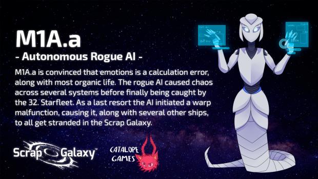 Scrap Galaxy - Character Bio - MIA.a