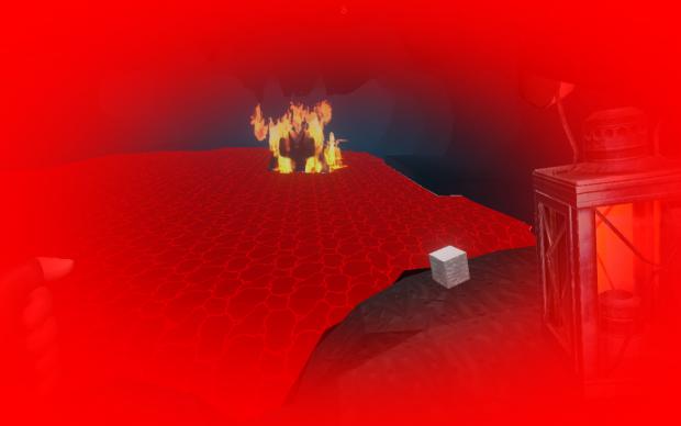 Lava Golem Burn